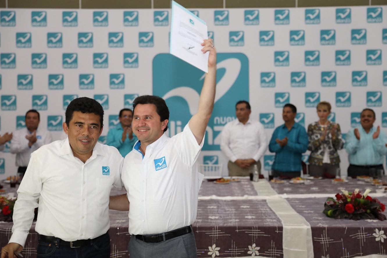 El PANAL postula a Sahuí como su candidato a gobernador
