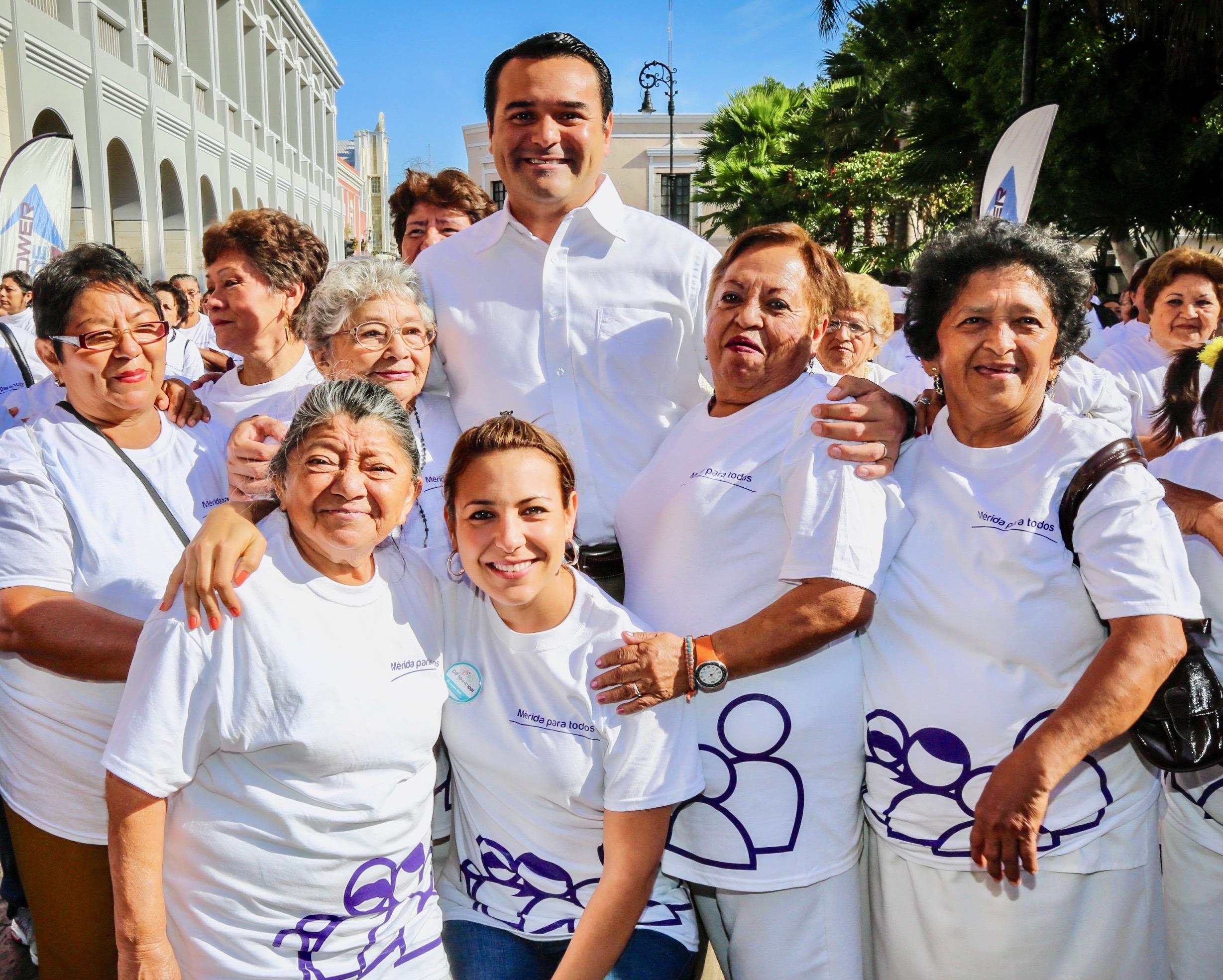 Apoyo y atención a adultos mayores contribuye a sociedad justa y equitativa