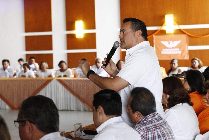 Suma de esfuerzos será para beneficio de los ciudadanos, aseguró Renán Barrera