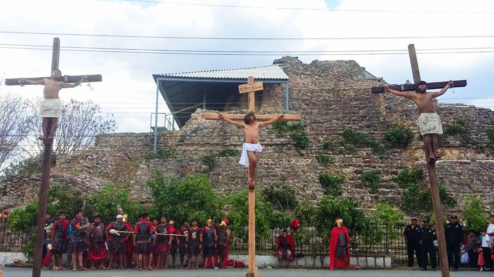 En Viacrucis de Acanceh cambian la historia: Andrés y no Pedro negará 3 veces a Cristo