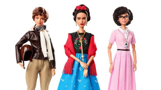 Frida Kahlo y otras mujeres de la historia, nuevas barbies inspiradoras