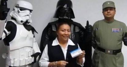 Con personajes de la saga Star Wars, la Secretaría de Salud de Campeche lanza una campaña para prevenir el VIH-Sida.