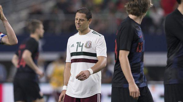 México tuvo fatídico ensayo ante Croacia