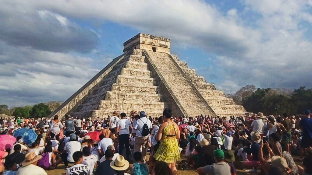 equinoccio en chichén itzá primavera 2018 castillo de kukulcán (1)