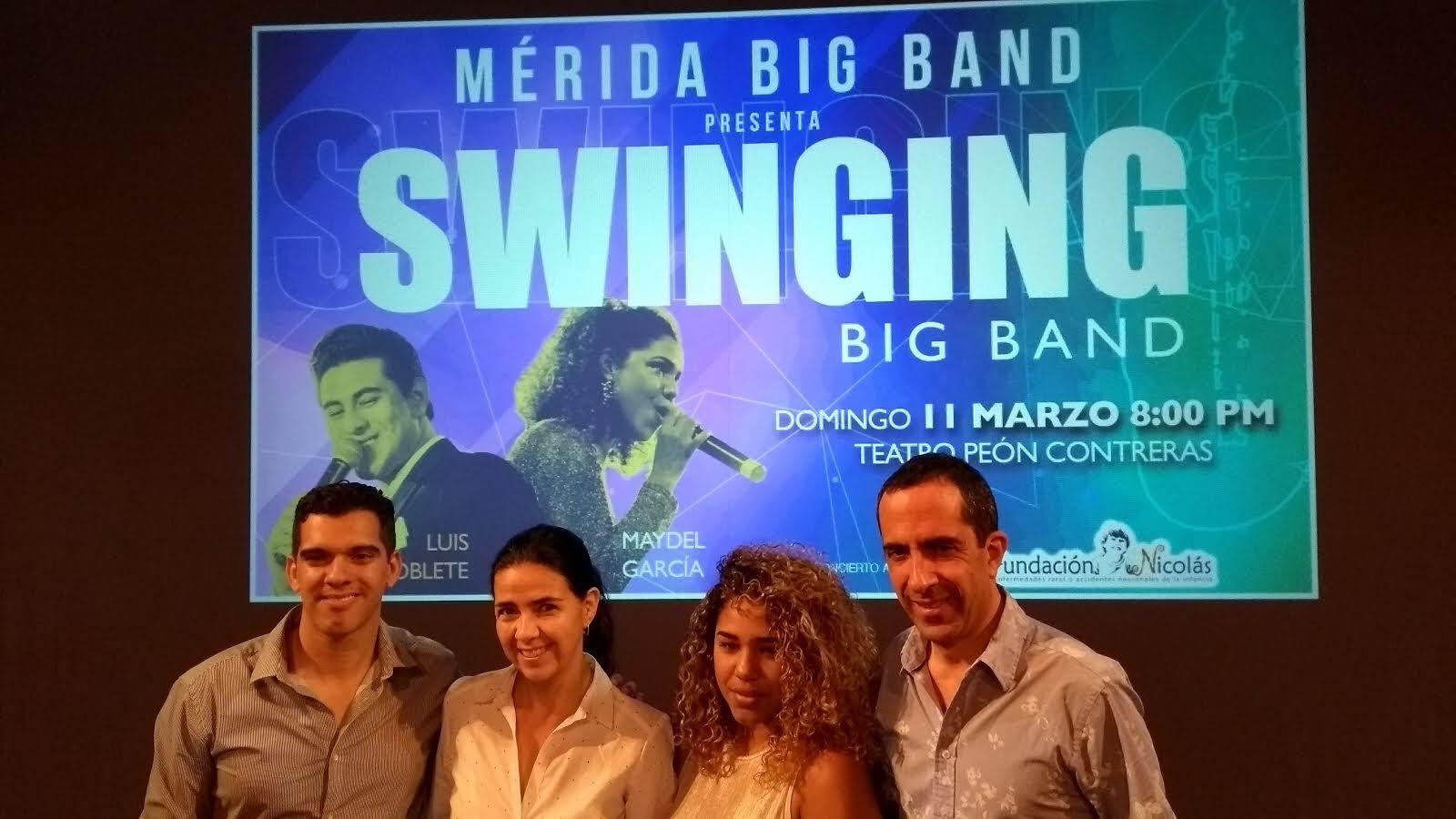 Concierto Big Band en pro de afectados con rara enfermedad