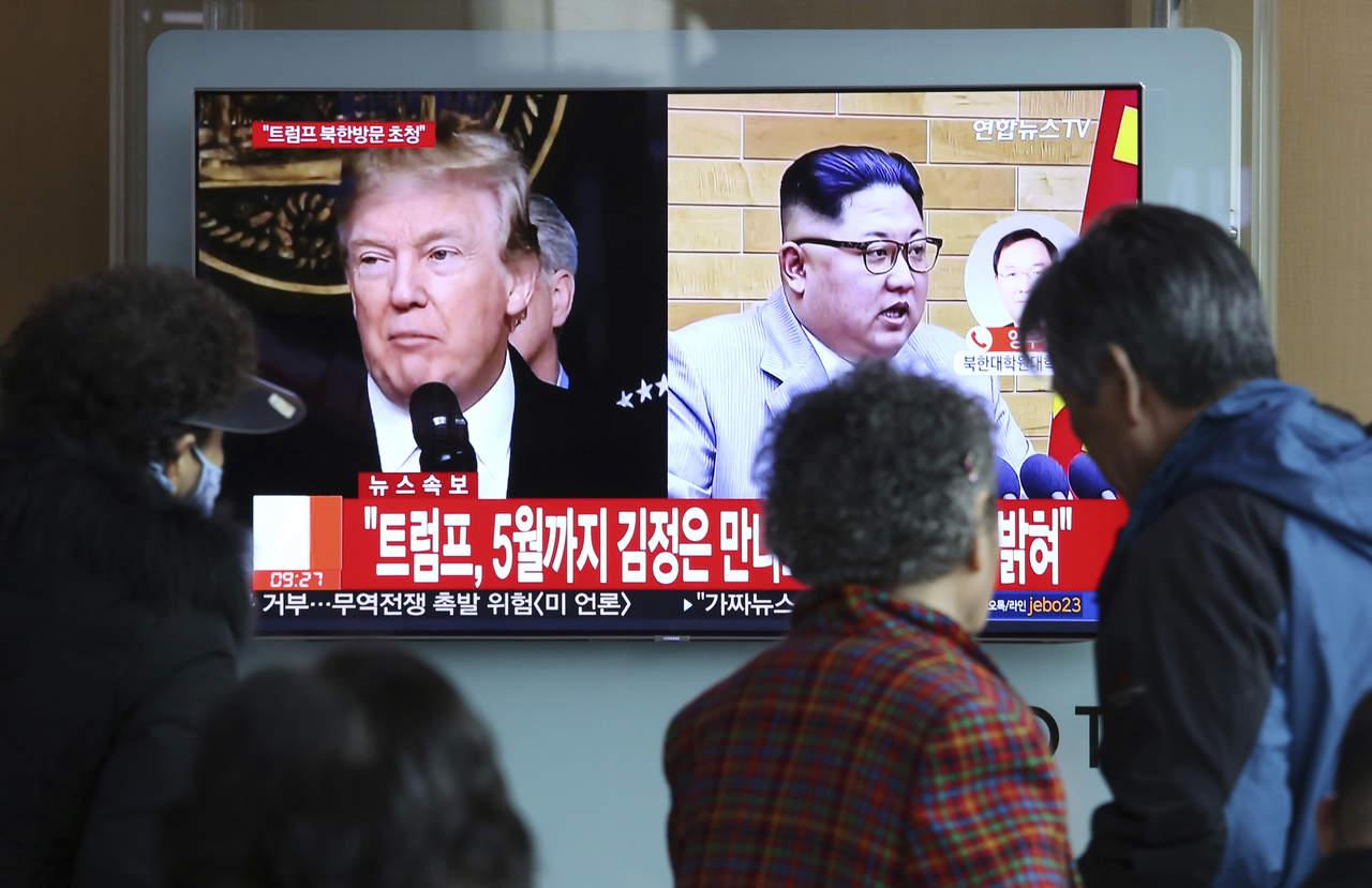 Llevará 'algunas semanas' fijar reunión de Trump con Kim Jong-un