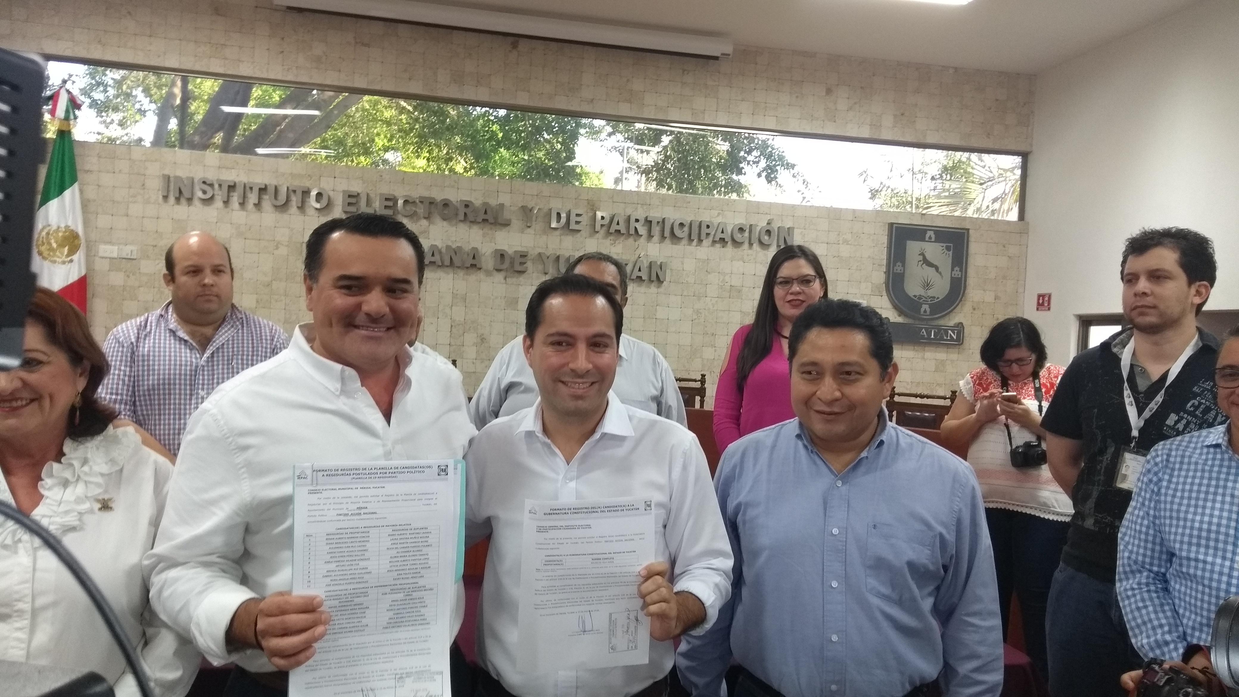 "Niega Vila Dosal acuerdos previos con ""Huacho"" Díaz Mena"
