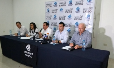 Coparmex descarta 'pánico' en sector empresarial por AMLO