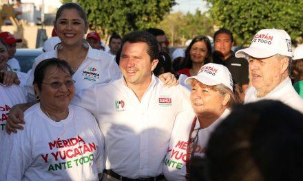 Yucatán seguro con Sahuí; Encuentro con vecinos del nororiente de Mérida