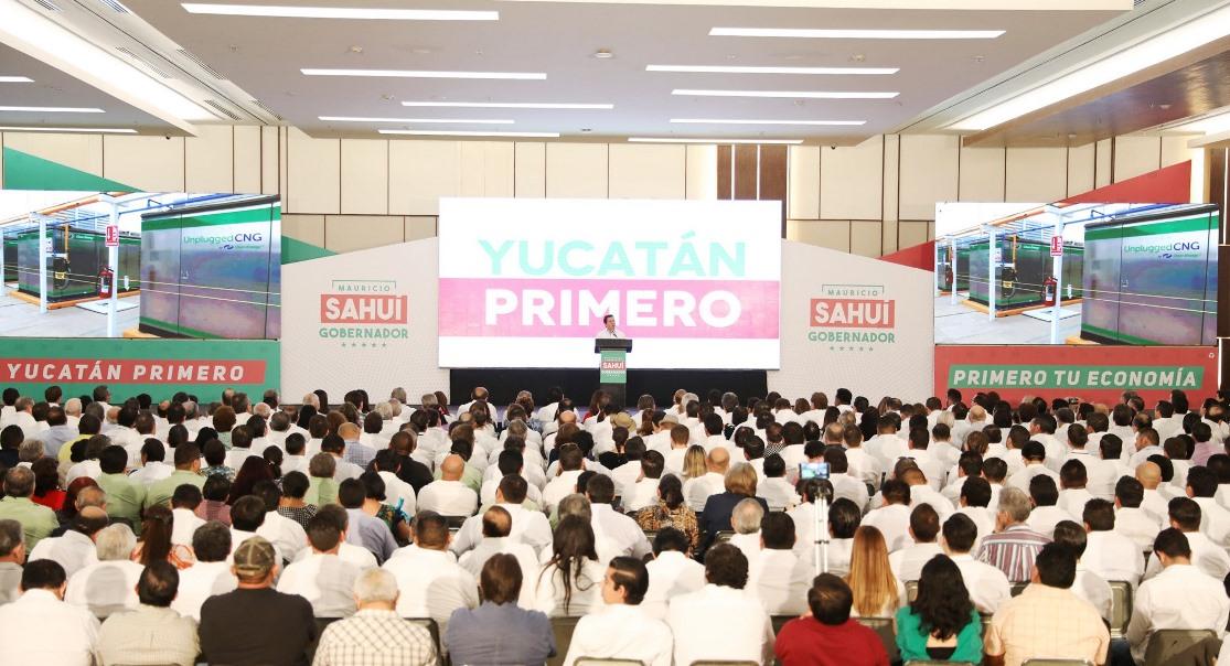 Inversión productiva de 28 mil millones para Yucatán
