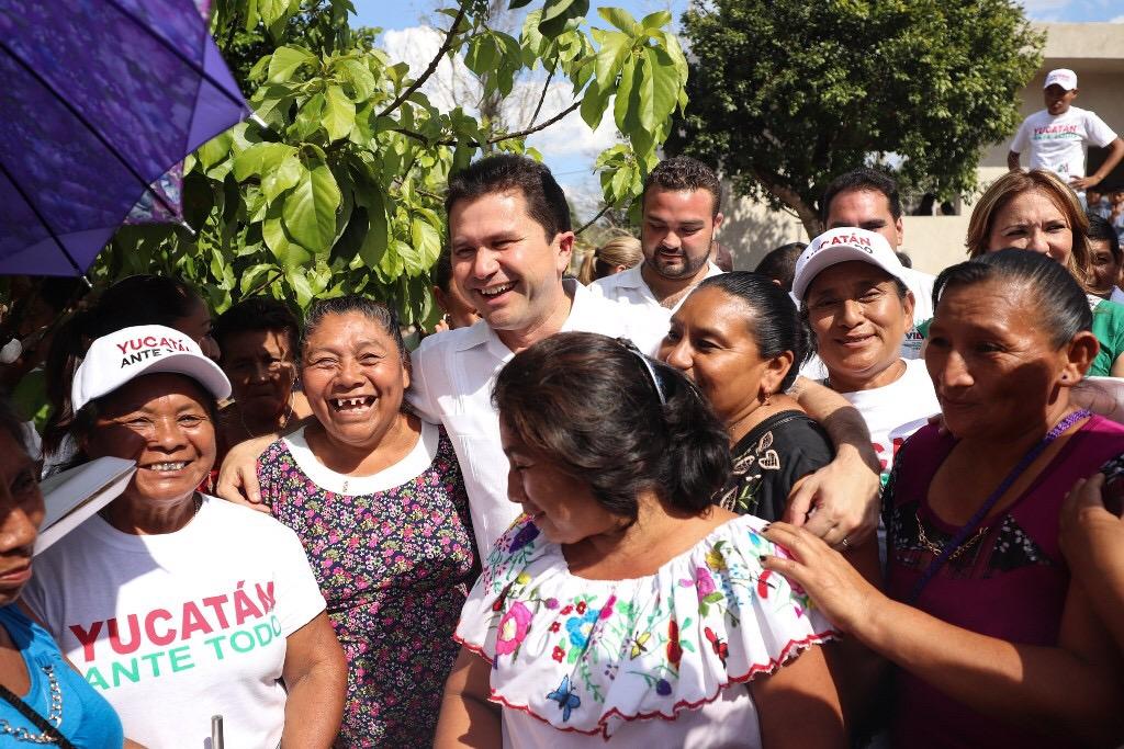 Un solo equipo para hacer más grande a Yucatán: Sahuí