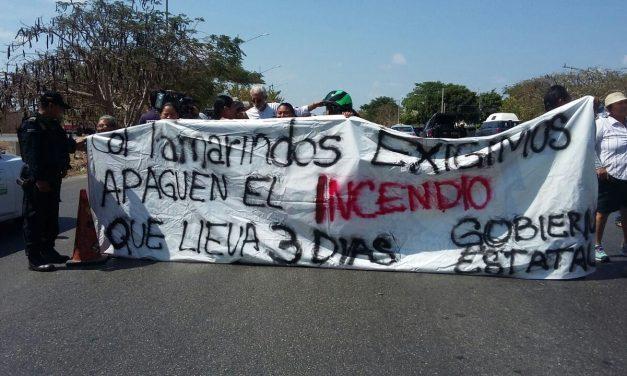 Incendio y protesta en Mérida: vecinos alzan la voz y los escuchan