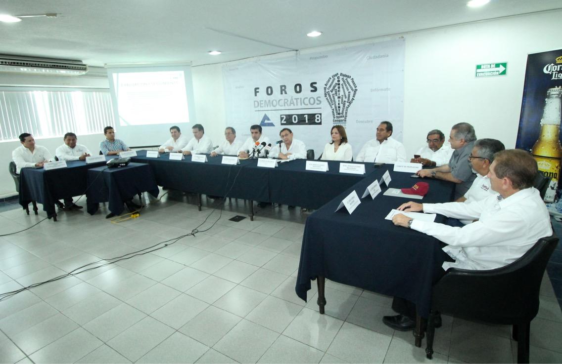 Canaco Mérida organizará cuatro foros electorales