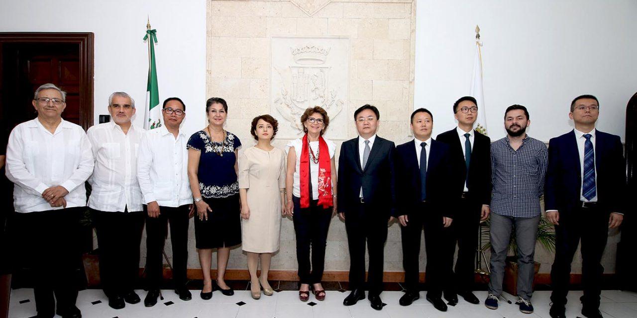 Interés chino por innovación, cultura, economía y turismo en Mérida