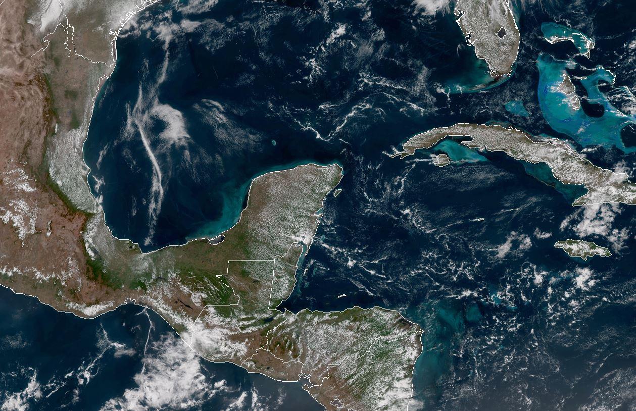 Vuelven altas temperaturas en Península de Yucatán