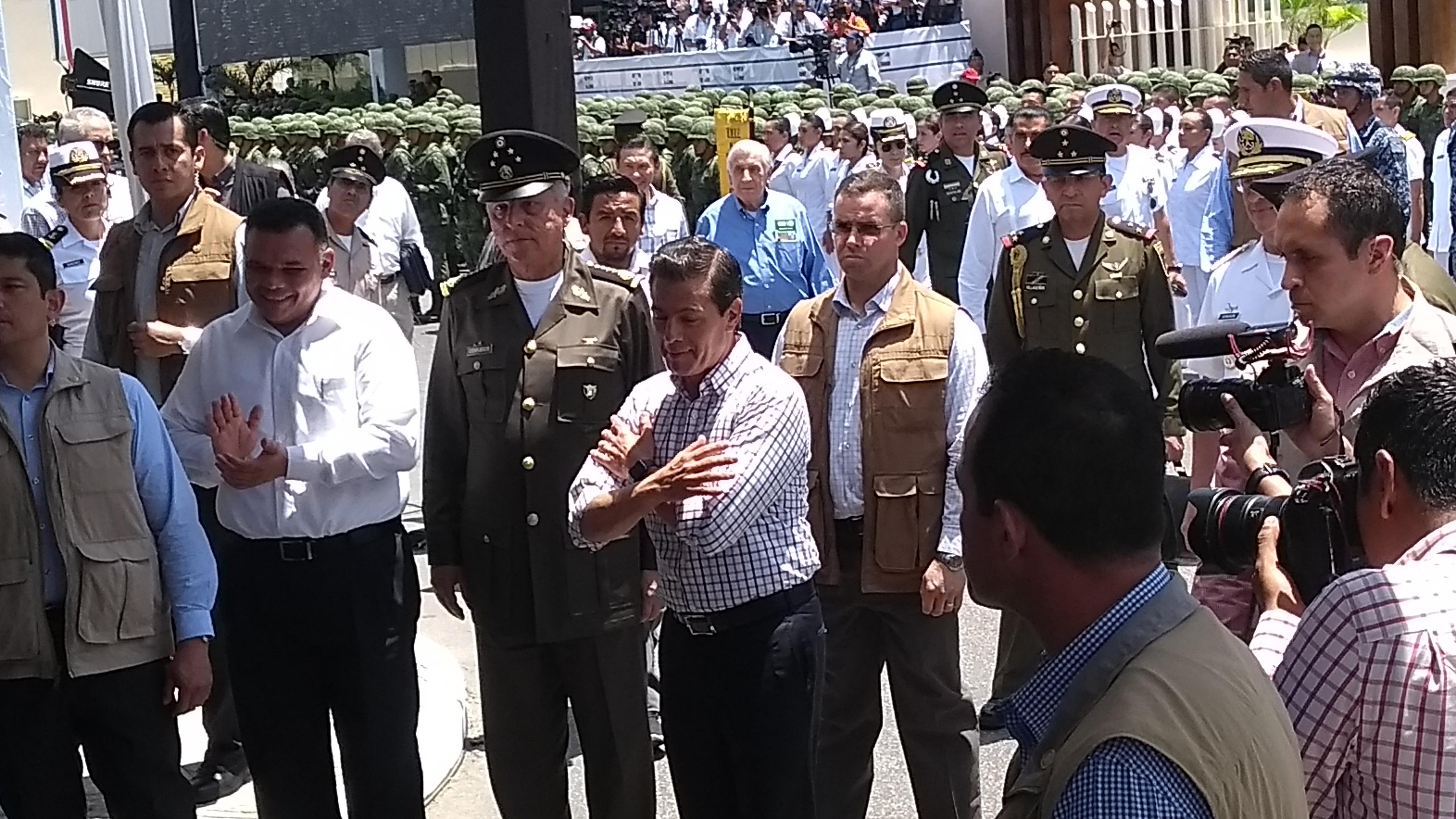 Cada vez más estricta la seguridad en visitas presidenciales