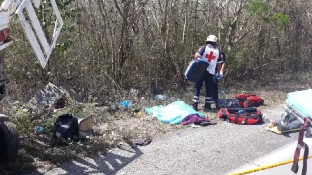 Mala fortuna: mueren tres en la Mérida-Cancún