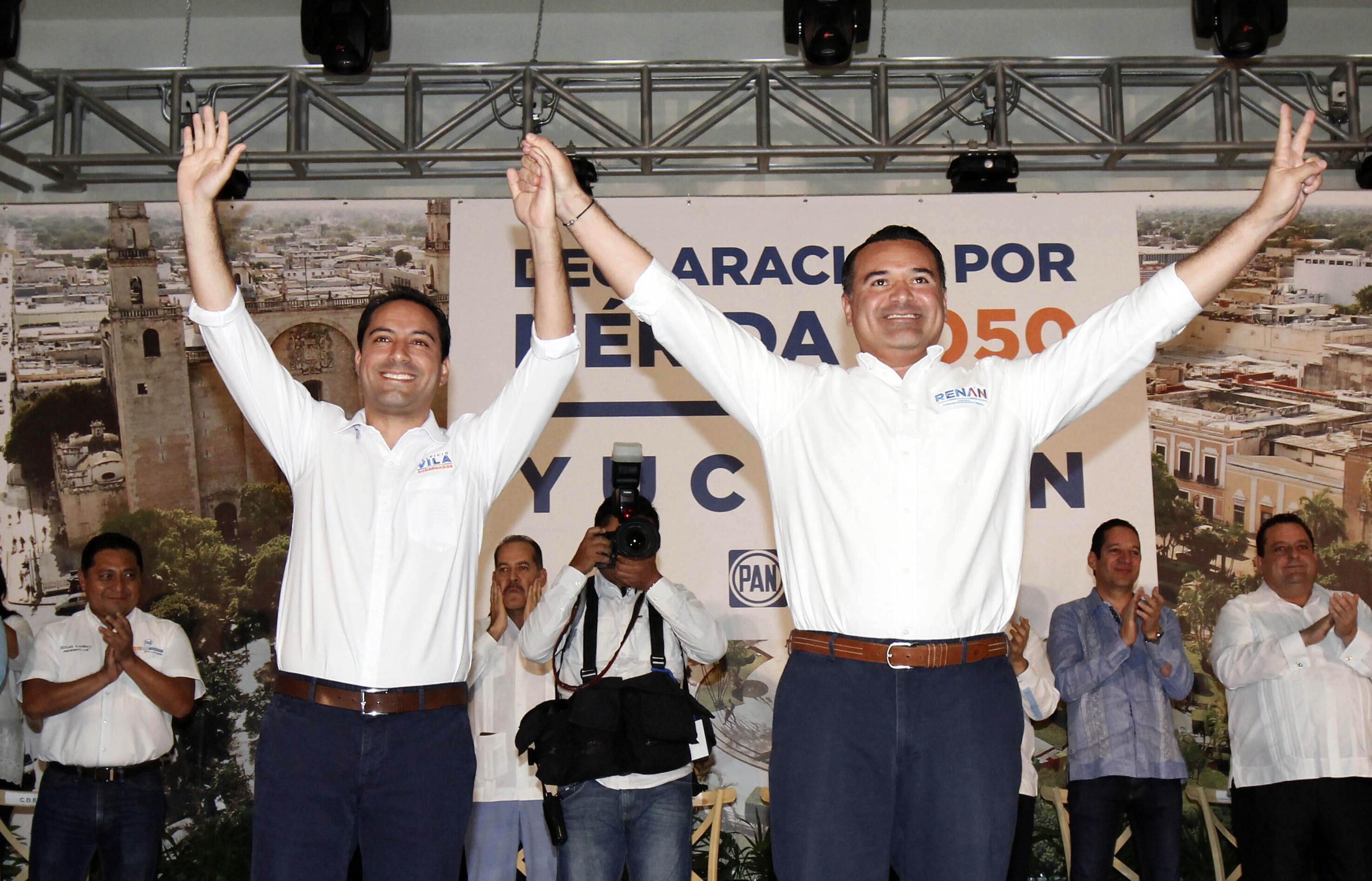 Mauricio Vila y Renán Barrera: Declaración por Mérida 2050