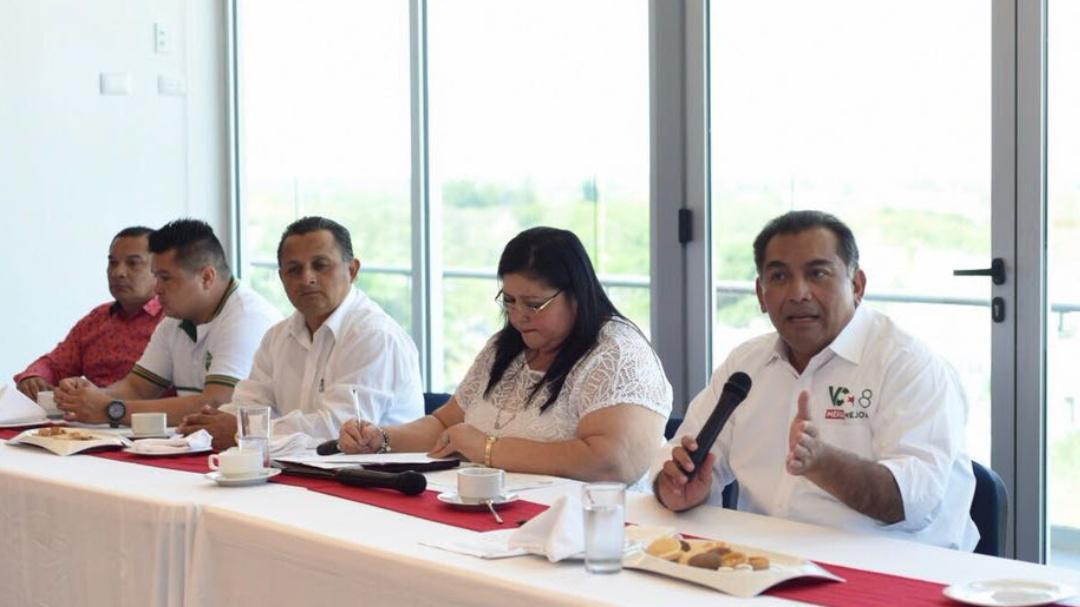 Con nueva visión, Mérida será polo de inversión y desarrollo: Caballero Durán