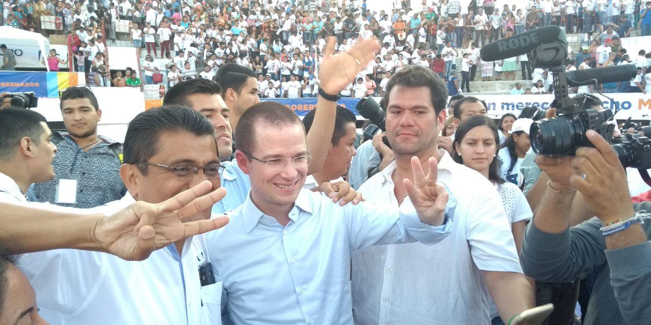Remontaré encuesta y ganaré elecciones, asegura Ricardo Anaya