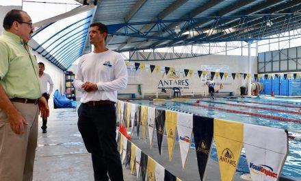 Ramírez Marín apoyará la hazaña de un nadador yucateco