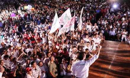 Sahuí reúne a 12 mil simpatizantes en Tizimín