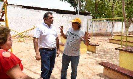 Más y mejores parques públicos: Víctor Caballero Durán