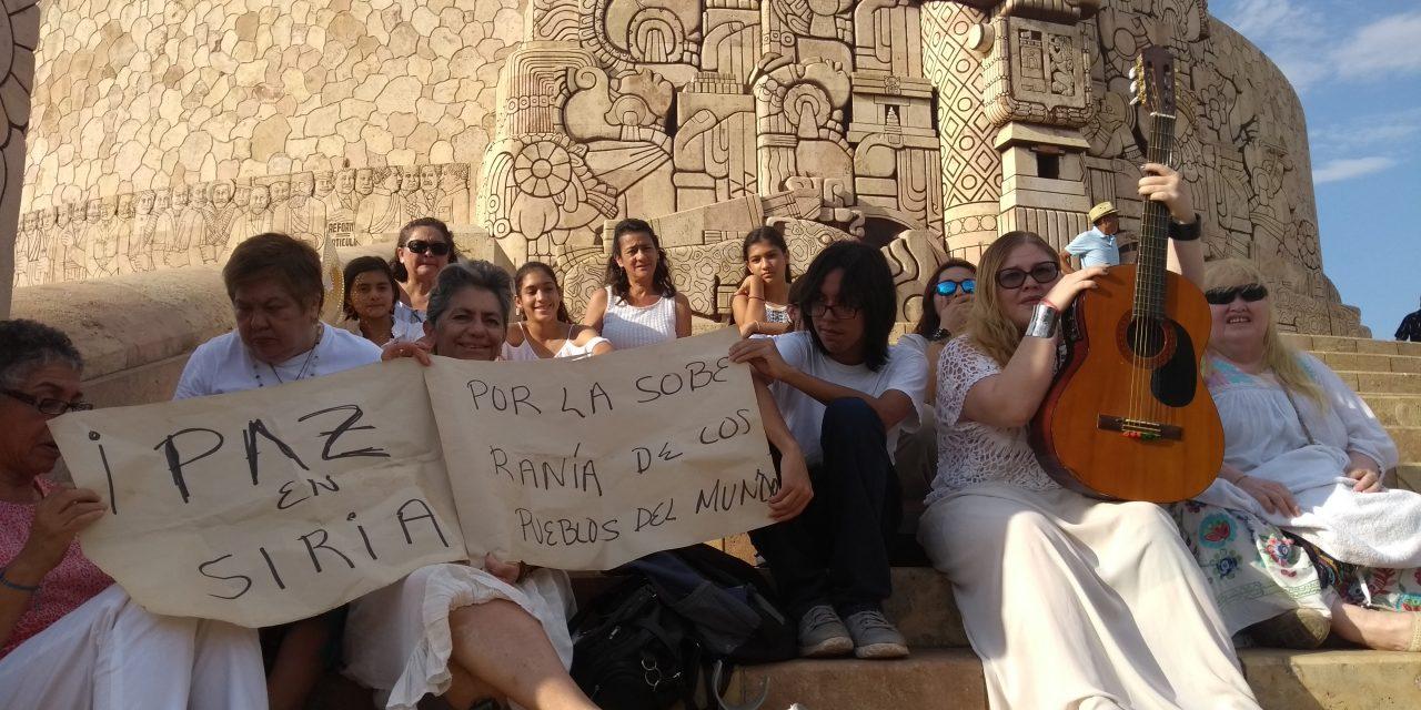 Desde el corazón de Yucatán piden por la paz en Siria