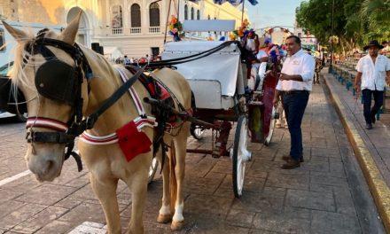 Sustituir calesas tiradas por caballos, propone Víctor Caballero