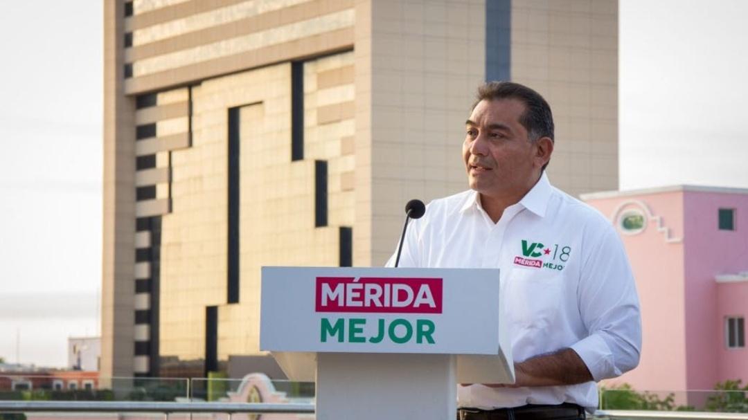 Anuncia Víctor Caballero primeras propuestas económicas para una Mérida Mejor