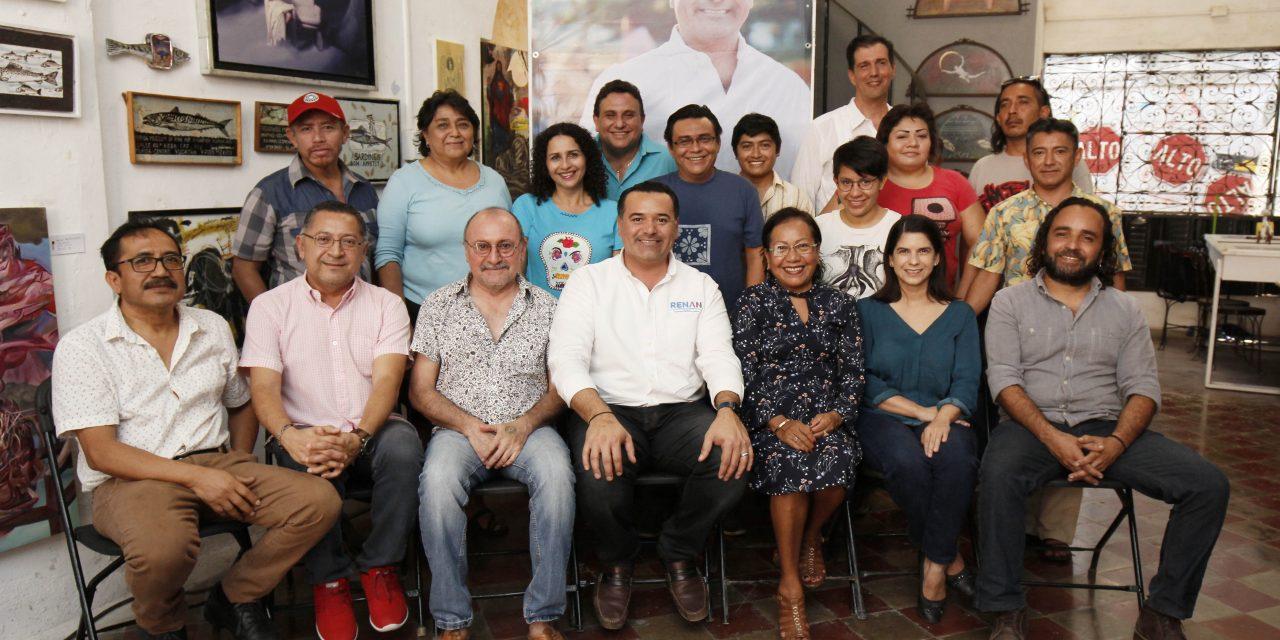 """""""Continuaremos apostando fuerte por la cultura"""": Renán Barrera"""