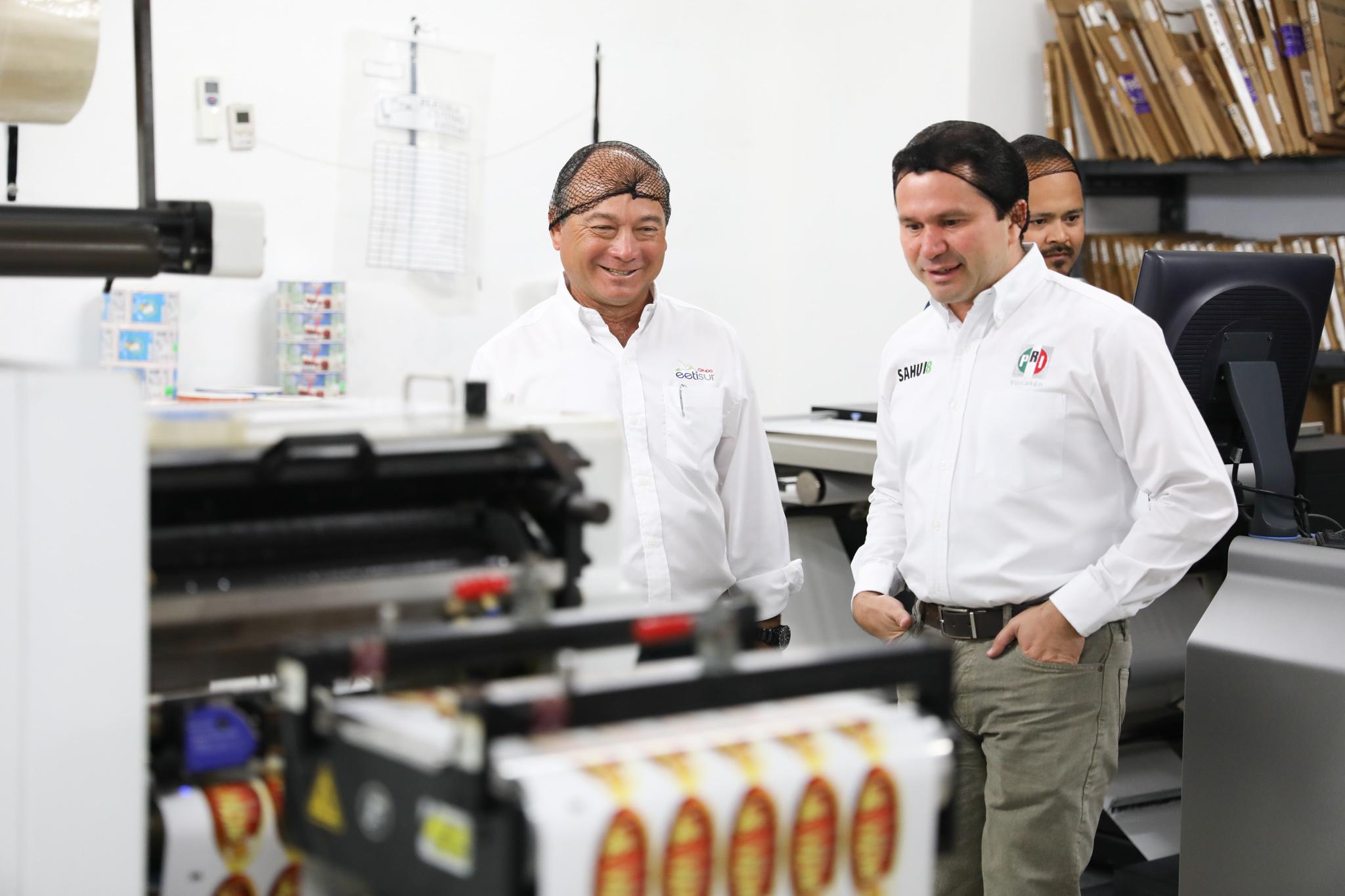 Aliado para generar empleos mejor pagados: Sahuí