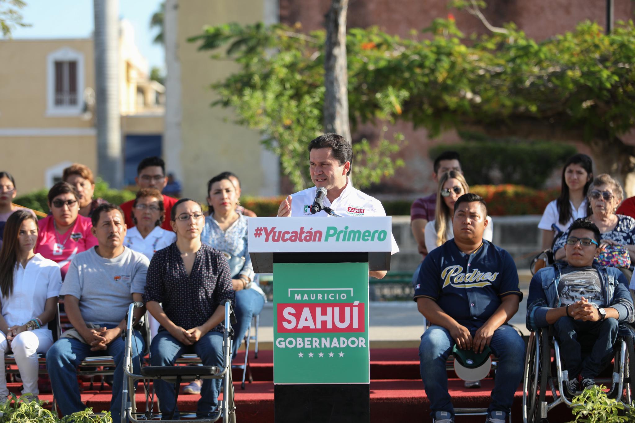 """Sahuí y la visión de la campaña """"Yucatán Primero"""""""