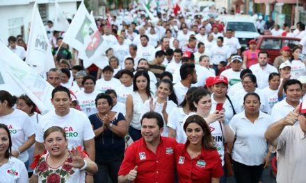En Baca, Sahuí reitera: vamos con todo