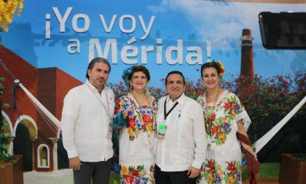 Promueven a Mérida ante industria área