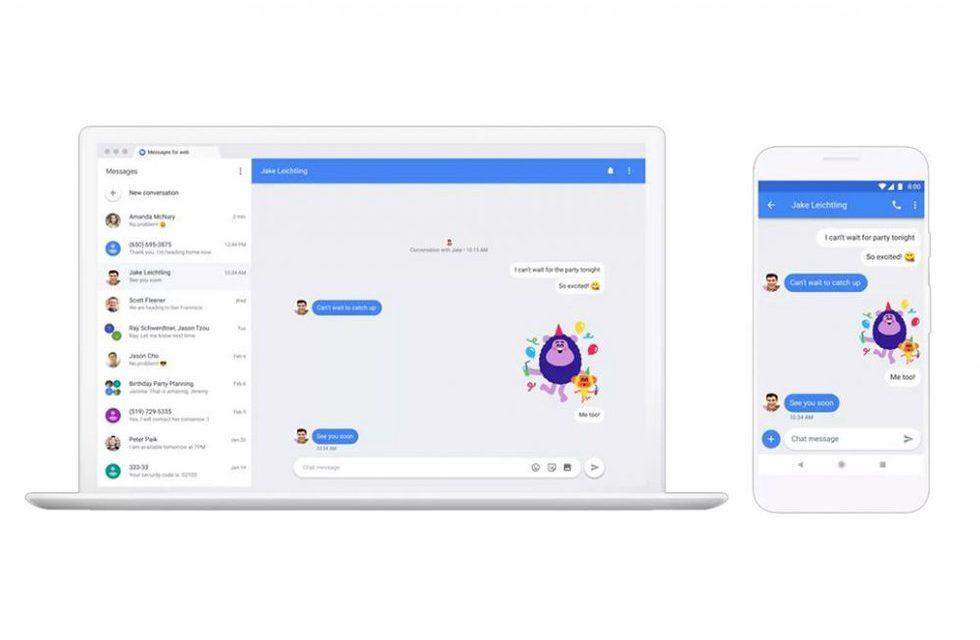 Busca Chat de Google destronar a WhatsApp
