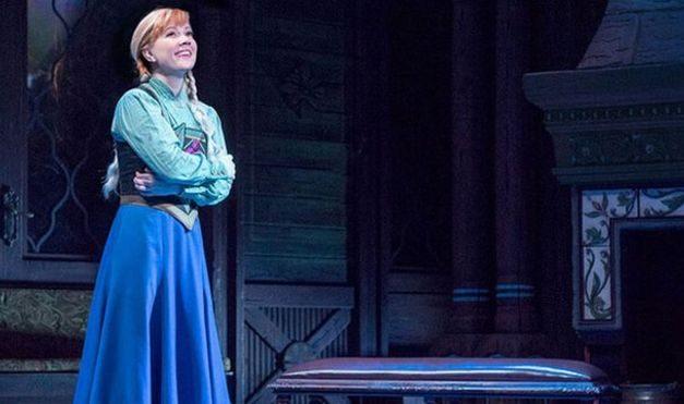 Por ataque de ansiedad una actriz suspendió show de 'Frozen' en Broadway