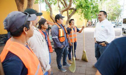Aumentar calidad de servicios públicos, uno de los ejes principales de Renán Barrera