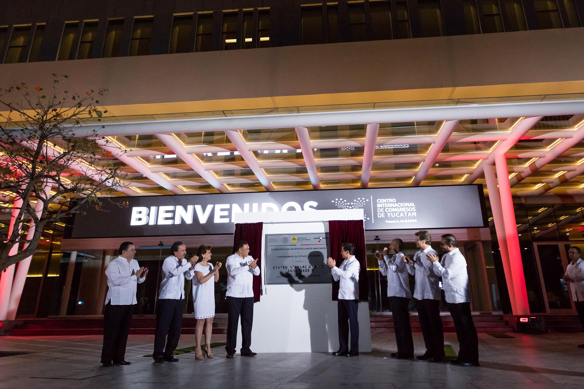 Luce Mérida nuevo Centro Internacional de Congresos