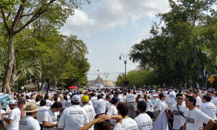 Rechazan sindicatos presencia de candidatos en marcha del 1 de mayo