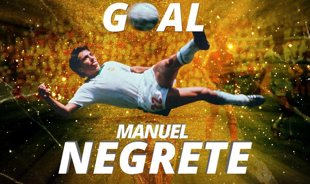 Gol de Negrete en Copa del Mundo México 1986, el mejor de los mundiales (video)