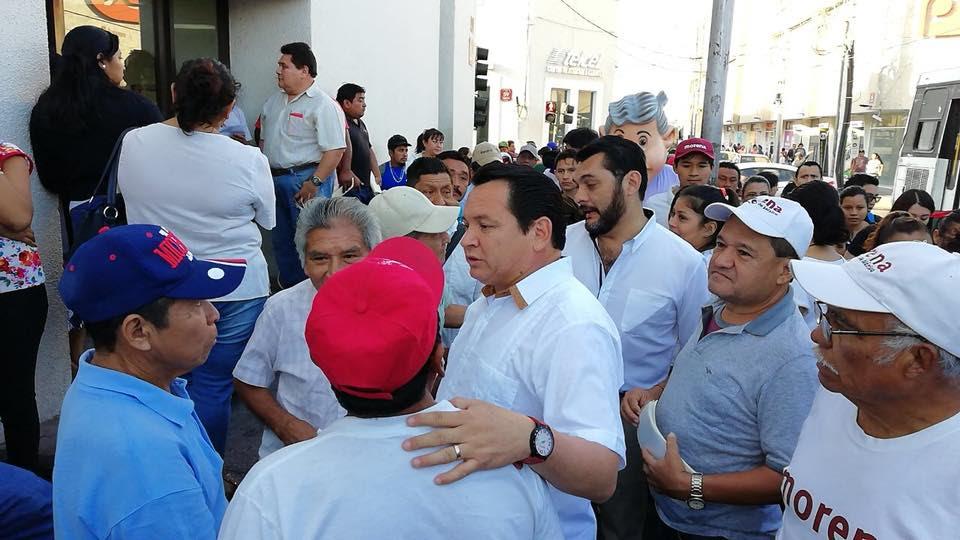 """""""Yucatán no se puede quedar afuera de la transformación"""": Huacho Díaz Mena"""