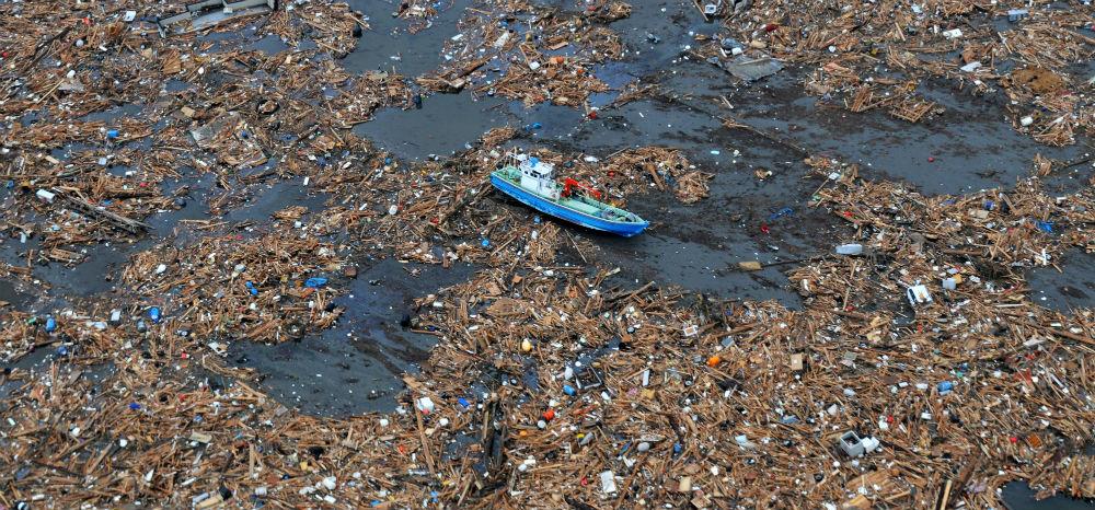 Más de 200 kilos de basura por segundo van al océano