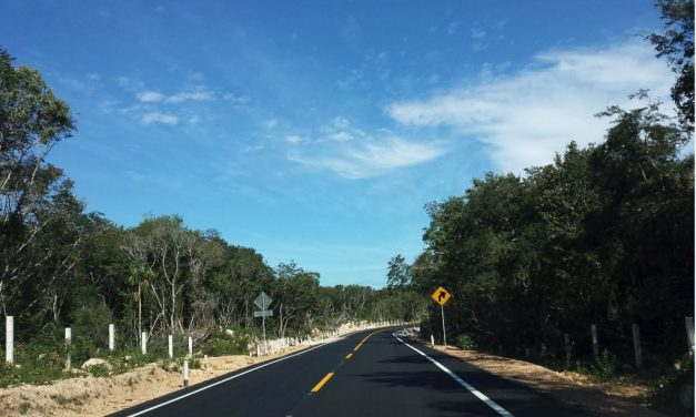 Reducen 40 minutos tiempo de recorrido en carretera Mérida-Chetumal