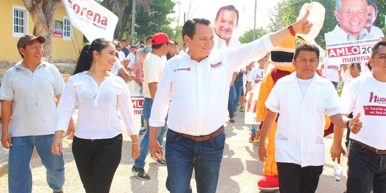 """Dos semanas de campaña: """"Huacho"""" dice que hace historia"""