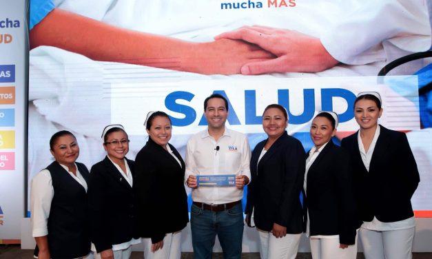 La salud en Yucatán no puede esperar: Vila Dosal