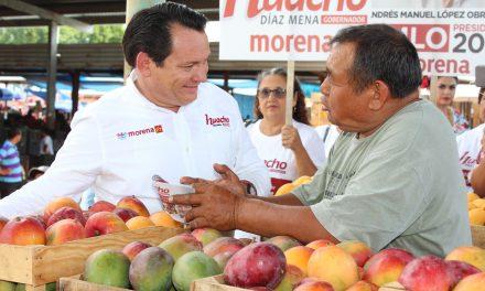 """""""Huacho"""" escucha las necesidades de productores"""