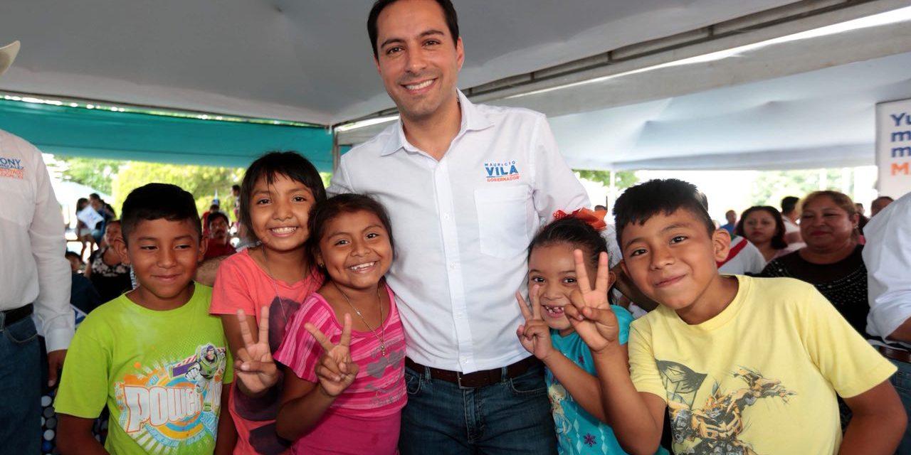 """""""En mi gobierno, nadie abandonará sus estudios por falta de oportunidades"""": Vila Dosal"""