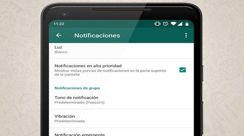 Notificaciones de alta prioridad llegarán a WhatsApp