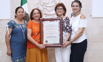 Ayuntamiento de Mérida recibe reconocimiento internacional por políticas públicas con perspectiva de género